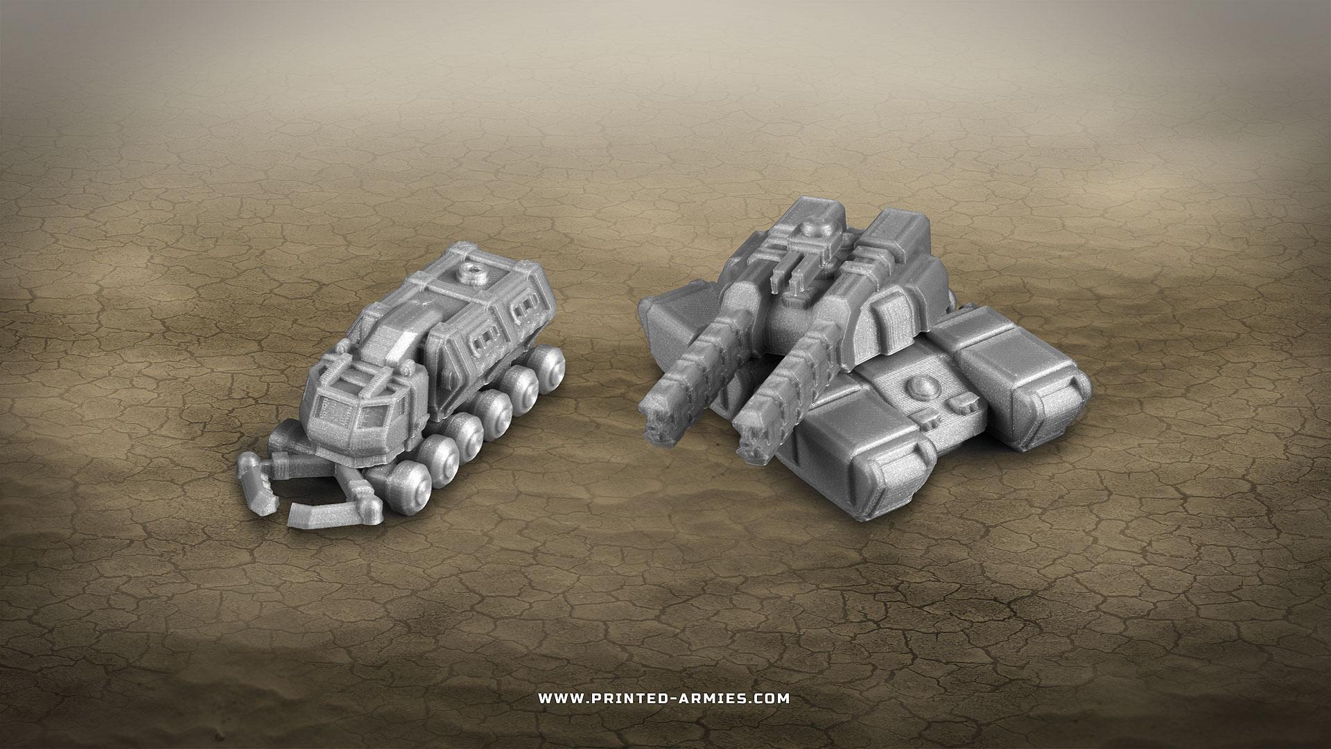Collector and Behemoth Tank