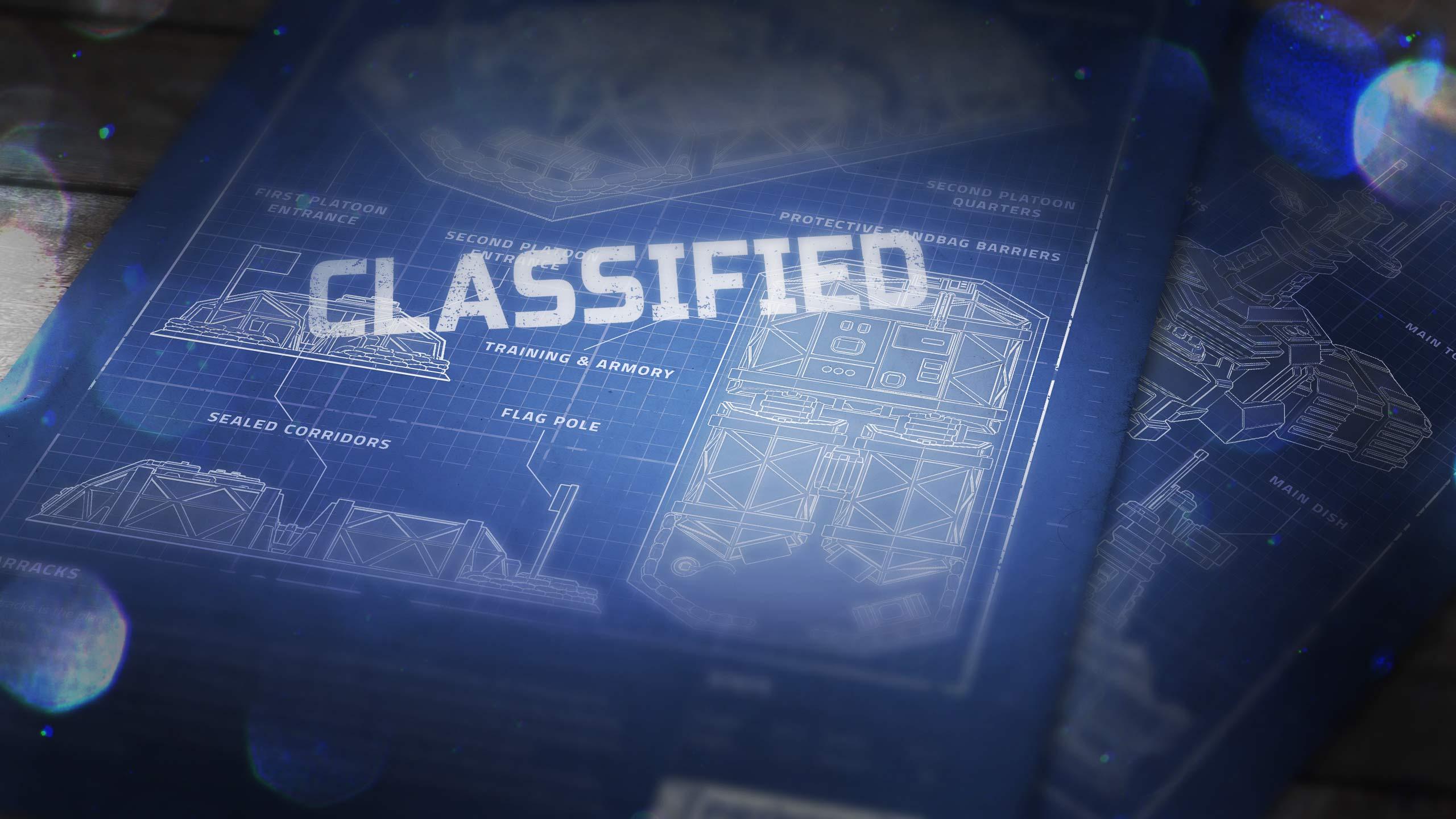 Classified Patreon exclusive Blueprints